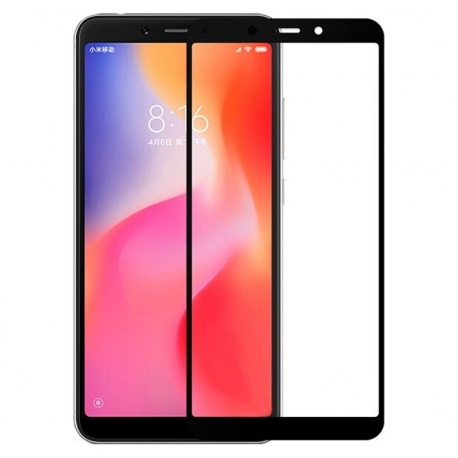 Защитное стекло Xiaomi Redmi 6 Full Screen Black
