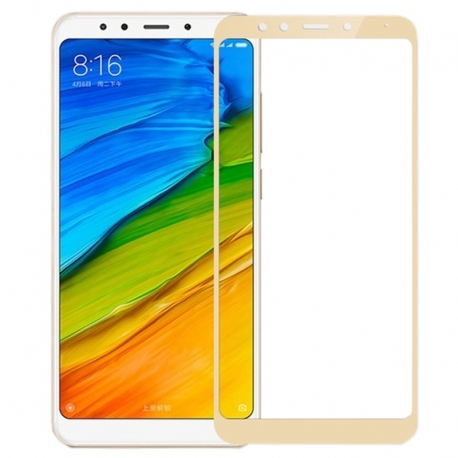 Защитное стекло Xiaomi Redmi 5 Plus Full Cover Gold