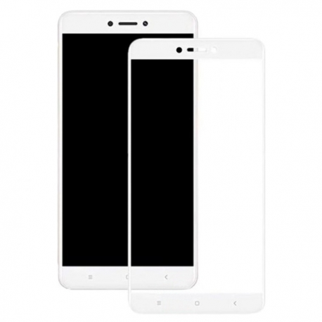 Защитное стекло Xiaomi Redmi 5A Full Screen White