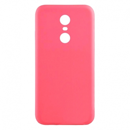 Чохол-накладка Xiaomi Redmi 5 Plus Silicon Case Pink