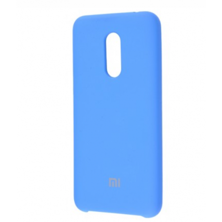 Чохол-накладка Xiaomi Redmi 5 Plus Silicon Case Blue