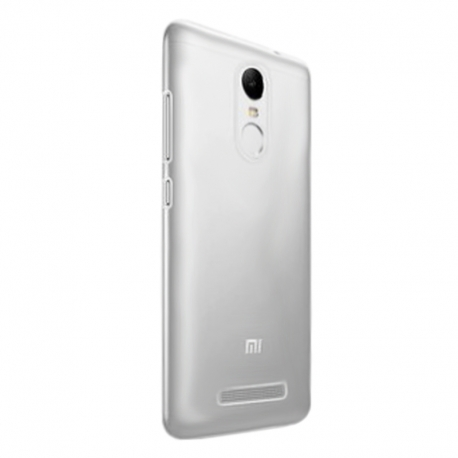 Чехол-накладка Xiaomi Redmi 4X TPU Remax Air Silver
