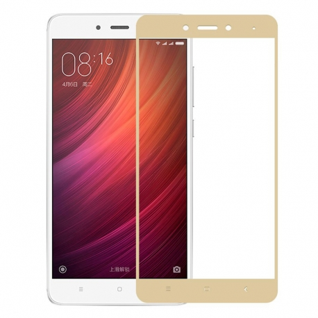 Защитное стекло Xiaomi Redmi Note 4 Full Screen Gold
