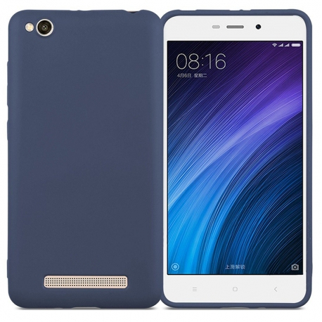 Чохол-накладка Xiaomi Redmi 4А Matte Soft Case Blue