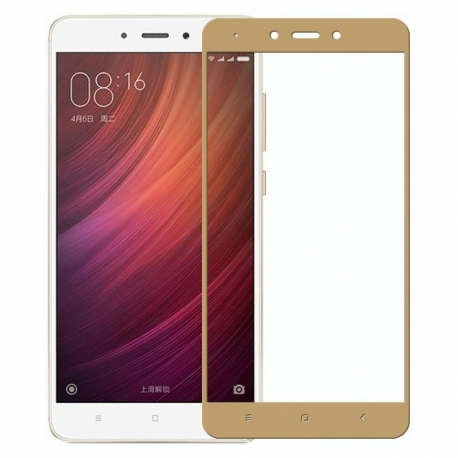 Защитное стекло Xiaomi Redmi Note 4X Full Screen Gold