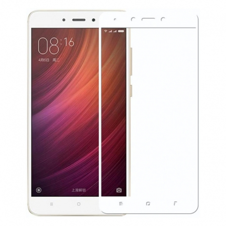 Защитное стекло Xiaomi Redmi 4X Full Screen White