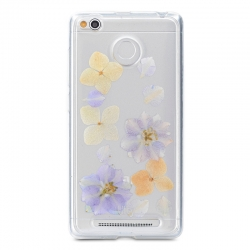 Чехол-накладка Xiaomi Redmi Note 3 Remax Utty TPU Flower Пастел.