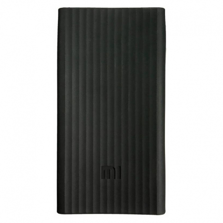 Чехол Original Silicon Case for Xiaomi Power Bank 2/20000 mAh Black