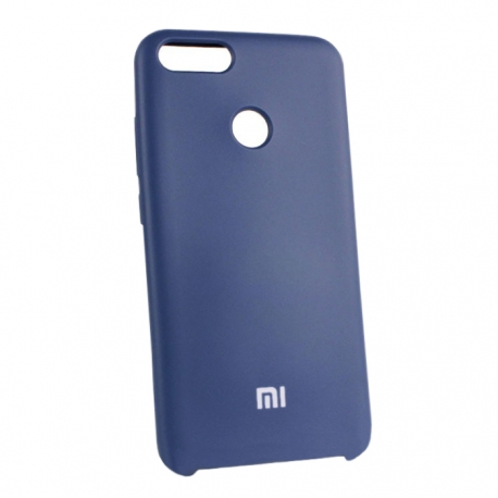 Чехол-накладка Xiaomi A1/5X Original Silicon Case Blue
