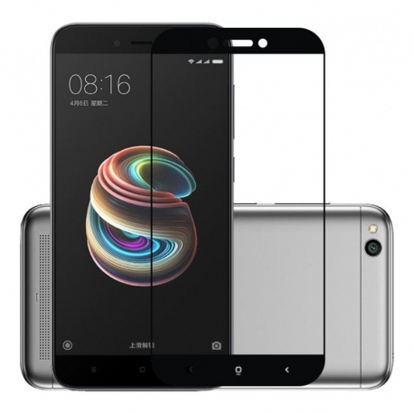 Защитное стекло Xiaomi Redmi 5A Aspor Full Black