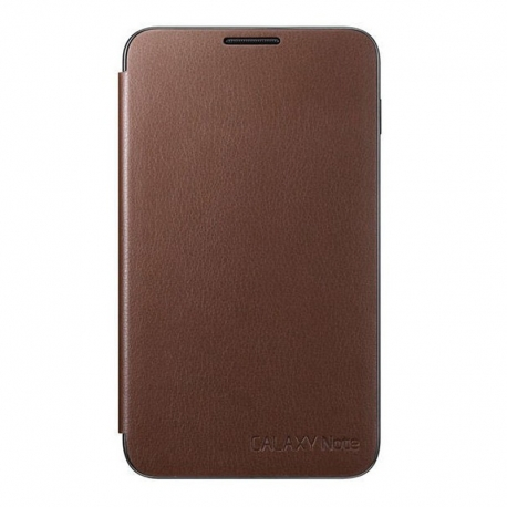Чехол-книжка Samsung Galaxy Note N7000 Fllip Cover Brown