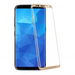 Защитное стекло Samsung S8 G950 Full Screen Glass Gold