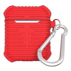Чехол для Airpods Protective Case Red