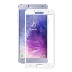 Защитное стекло Samsung J400 (J4-2018) Full Screen White