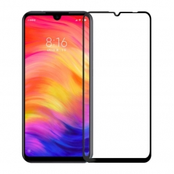 Защитное стекло Xiaomi Redmi 7 Full Screen Black 3D