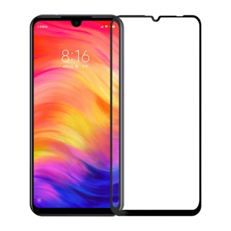 Захисне скло Xiaomi Redmi 7 Full Screen Black 3D