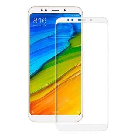 Захисне скло Xiaomi Redmi 5 Full White