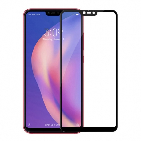 Захисне скло Xiaomi Mi 8 Lite Full Screen Black Optima 3D