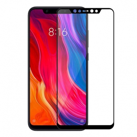 Захисне скло Xiaomi Mi 8 Full Screen Black (тех упак)
