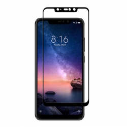 Защитное стекло Xiaomi Mi8 Pro Full Screen Black (тех уп)