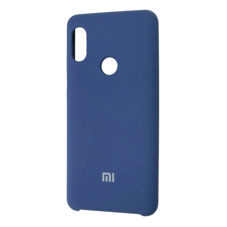 Чехол-накладка Xiaomi Mi A2 Lite/Redmi 6 Pro Original Soft Case Dark Blue