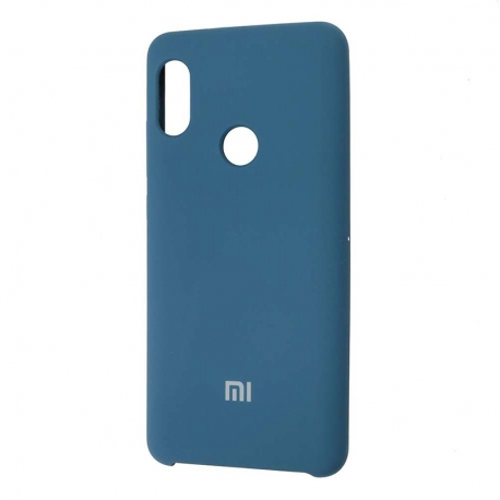Чехол-накладка Xiaomi Redmi Note 5/5PRO Original Soft Case Blue