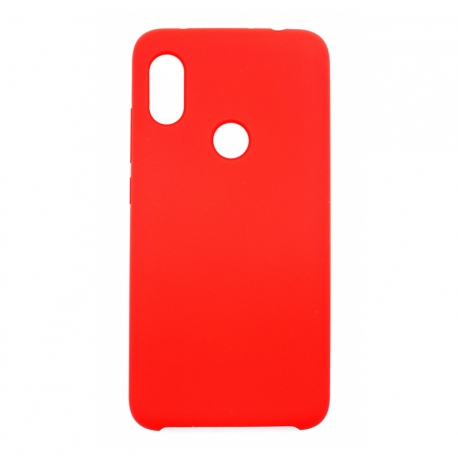 Чехол-накладка Xiaomi Redmi Note 6 Original Soft Case Red