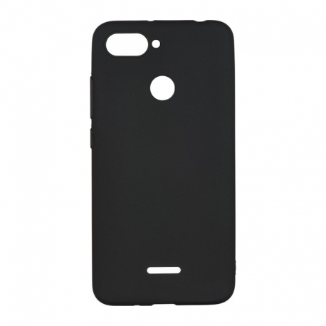 Чехол-накладка Xiaomi Mi8 Lite/Mi8 Original Soft Case Black