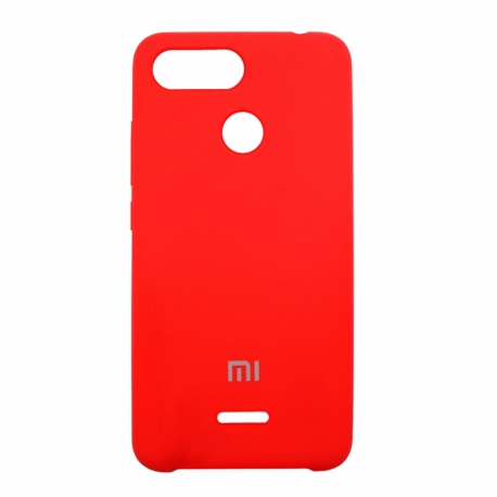 Чехол-накладка Xiaomi Mi8 Lite/Mi8 Original Soft Case Red