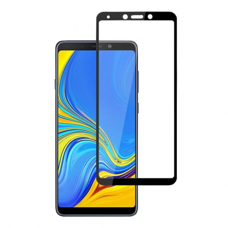 Захисне скло Samsung A9 (2018) Full Screen Black (тех уп)
