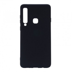 Чехол-накладка Samsung A9 2018 TPU Soft case Black