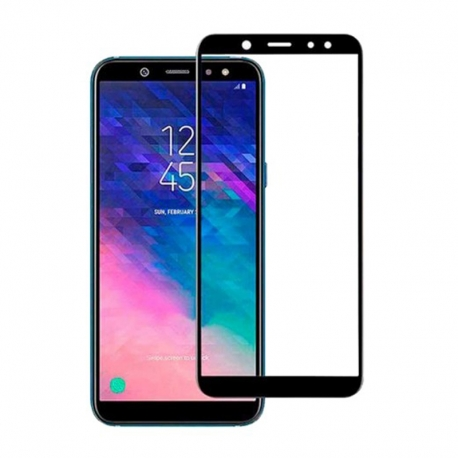 Захисне скло Samsung A605 (A6+2018) Full Screen Black (тех уп)