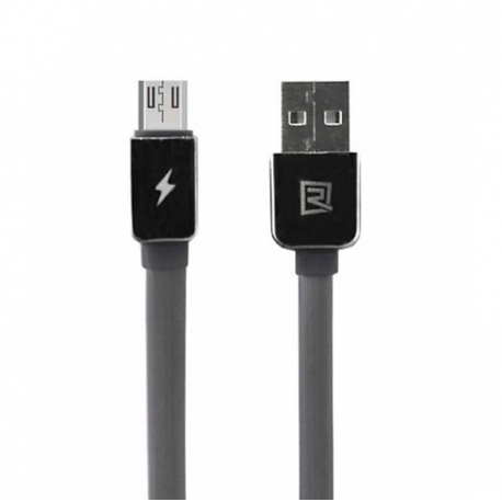 USB кабель Remax Safe&Speed microUSB Black 1m
