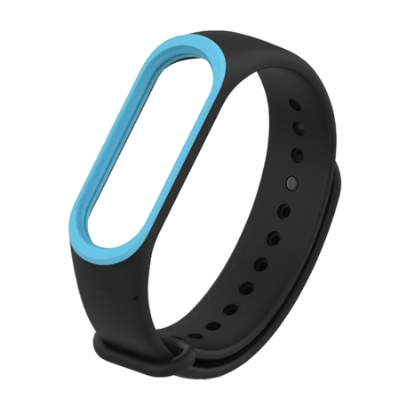 Ремешок Xiaomi MI Band 3 Black/Blue
