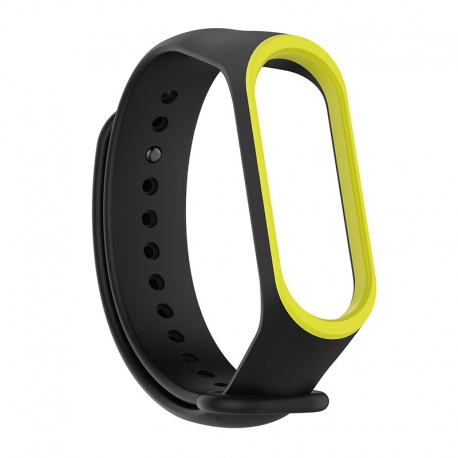 Ремешок Xiaomi MI Band 3 Black/Yellow