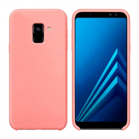 Чохол-накладка Samsung J8-2018 Original Soft Case Pink