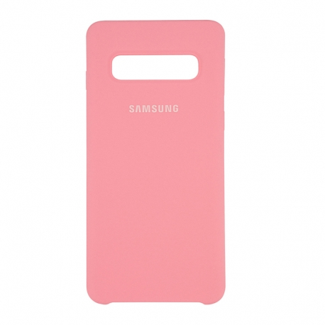 Чохол-накладка Samsung Galaxy S10 Plus Original Soft Case Pink