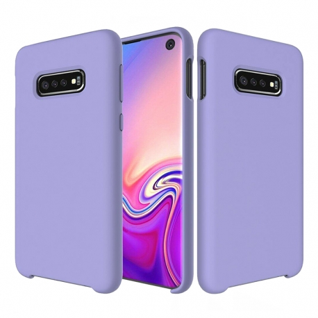 Чохол-накладка Samsung Galaxy S10 Plus Original Soft Case Purple