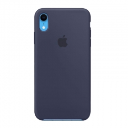 Чехол-накладка iPhone Xr Silicone Case midnight blue