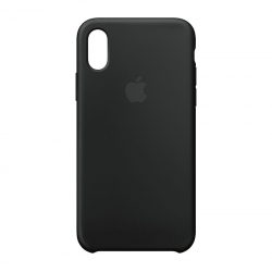 Чехол-накладка iPhone Xr Silicone Case black