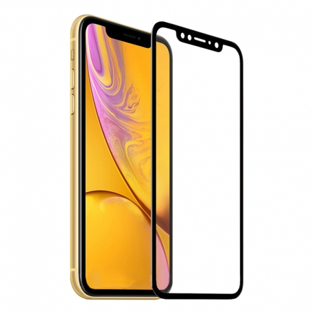 Защитное стекло IPhone Xr FULL SCREEN ACHILLES black