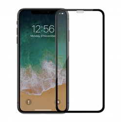 Защитное стекло IPhone XS Max FULL SCREEN ACHILLES black