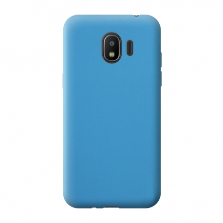 Чохол-накладка Samsung J260 (J2 Core-2018) Silicon Case Light Blue