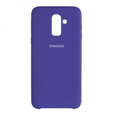 Чохол-накладка Samsung J8-2018 Original Soft Case Violet