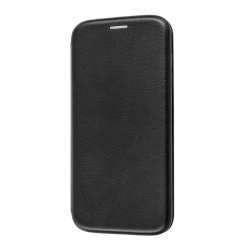 Чехол-книжка Premium Leather Case Samsung A20 Black
