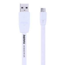 USB кабель Remax Full Speed Cable microUSB 1M White