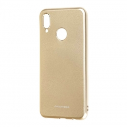 Чехол-накладка Huawei P Smart 2019 Molan Cano Glossy Jelly gold