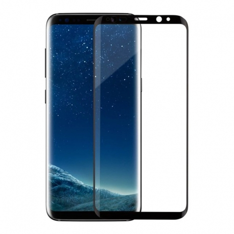 Захисне скло Samsung S8 Plus G955 Full Screen 3D Black (high quality)