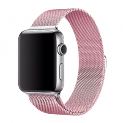 Ремешок для Apple Watch Milanese Loop 42 mm/44 mm pink