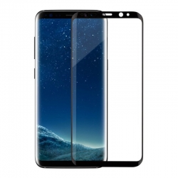 Защитное стекло Samsung S9 G960 Full Screen 3D Black (high quality)